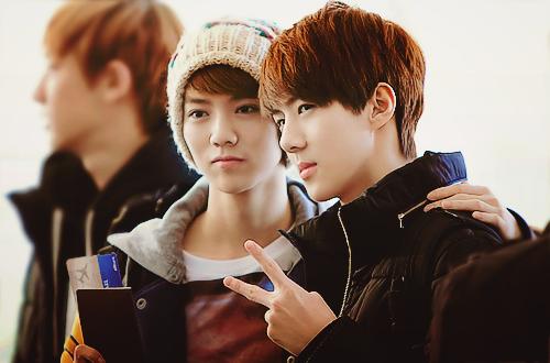 Sehun and Luhan (HunHan) 's Facts *update* Exo Sehun And Luhan 2013