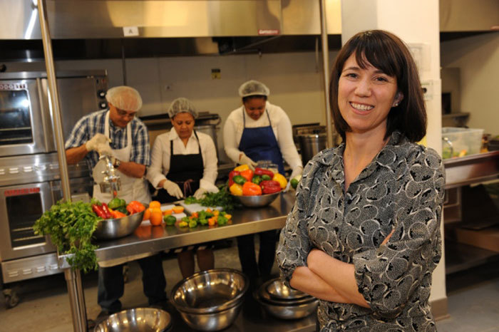 NY Daily News covers Hot Bread Kitchen's incubator program at La Marqueta to help immigrant entrepreneurs:  The program — one of several business incubators supported by the city's Economic Development Corp. — helps entrepreneurs get started by renting commercial kitchen space at below market rates and offering classes and other support. They also have workshops once a month on topics like logo design. The incubator, which opened inside the East Harlem marketplace La Marqueta in January 2011, accepts new members three times a year. The next application deadline is next month.  Find out more about this kitchen incubator in East Harlem at La Marqueta, one of NYC's public markets.