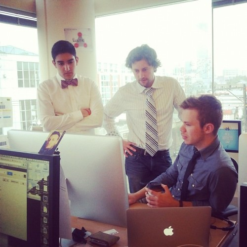 #tietuesday at Kiip (Taken with instagram)