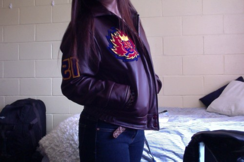 FINALLY GOT MY JACKET!
