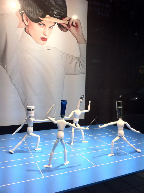 NK Stockholm store window display 2