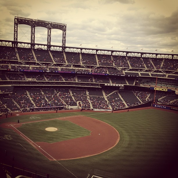 Citi Field is ready for Strasburg vs. Santana.
