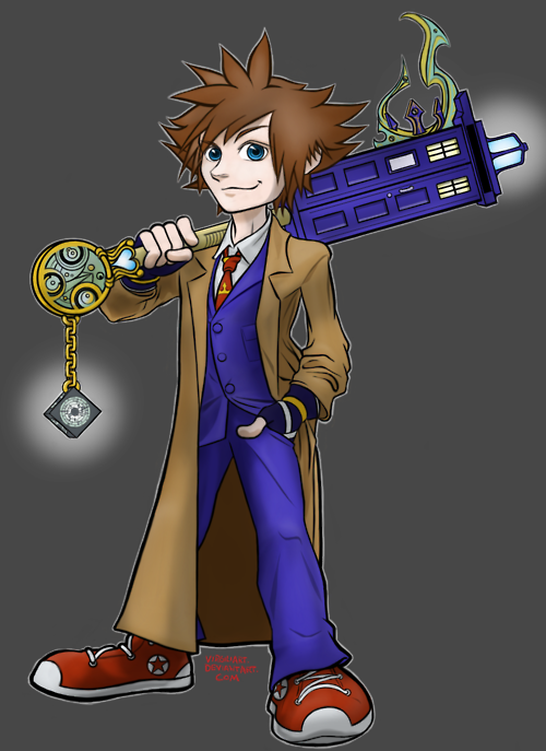 Kingdom Heart Doctor Who …