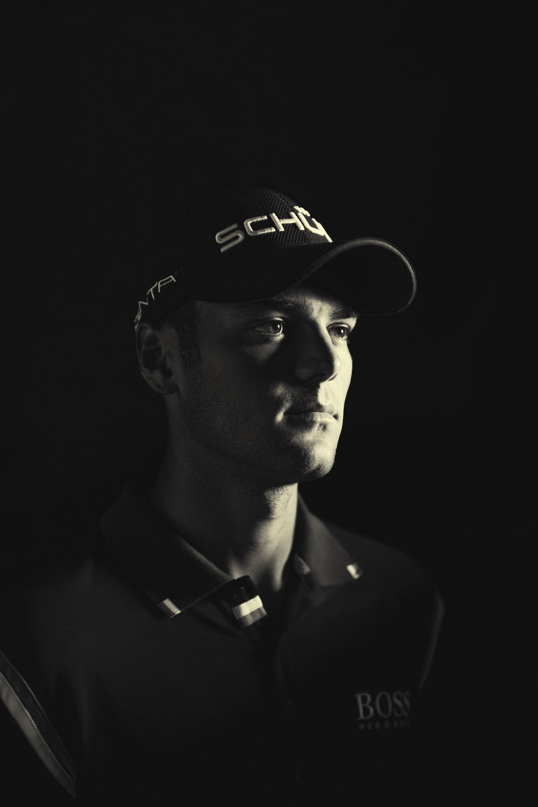 Martin Kaymer of Germany, photographed by Walter Iooss Jr. for an essay on the golf's global profile.