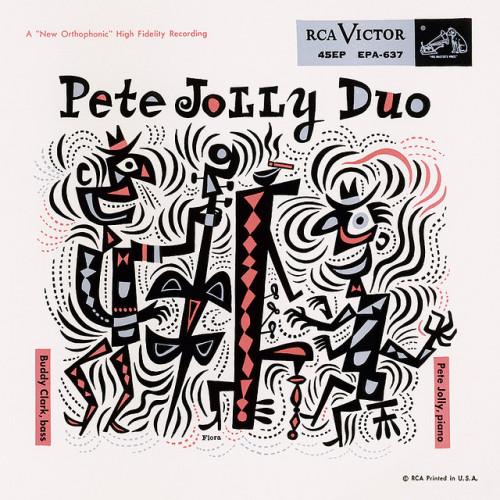 Pete Jolly Duo - another fine Jim Flora LP cover…
