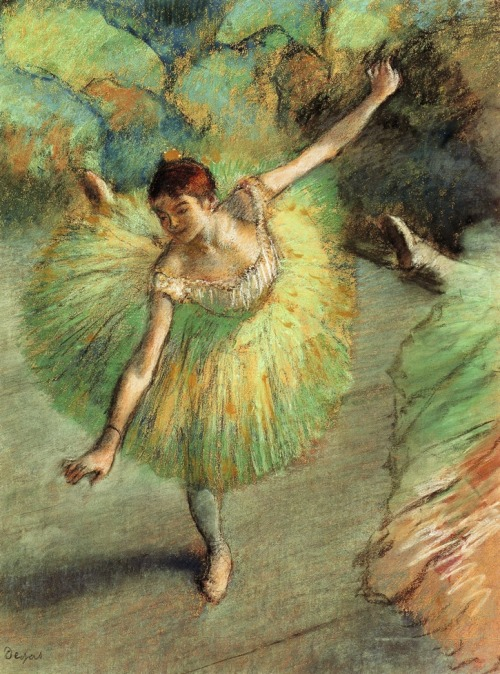 Dancer Tilting, Edgar Degas