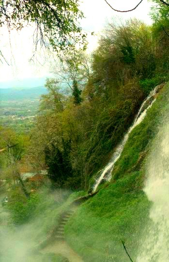 The waterfalls at Edessa.