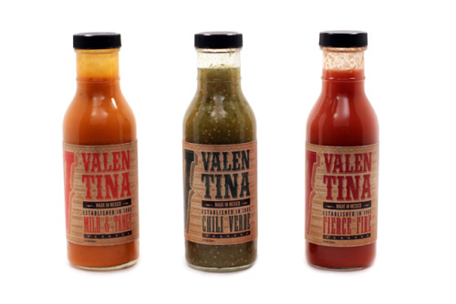 visualgraphic:  Valentina Hot Sauce