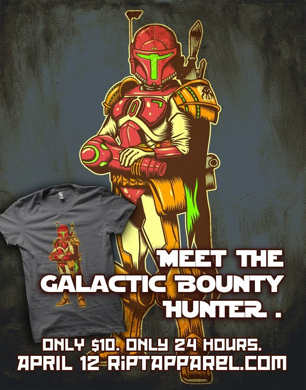 gamefreaksnz:  Galactic Bounty Hunter by Ninjaink USD$10 for 24 hours only Follow the artist on Tumblr  I'm so glad it is payday!
