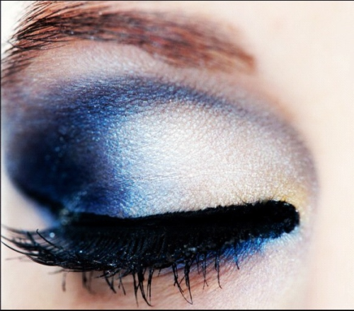 showmemakeup:  Petrol Blue eye makeup I created, using cheaper branded makeup - Sue Moxley from Superdrug in the UK