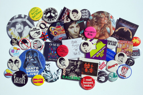 Where's The Beef? 1980's Buttons & Badges :: via flickr.com