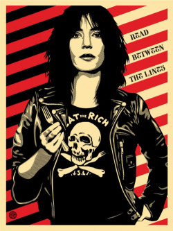 patti smith by shepard fairey