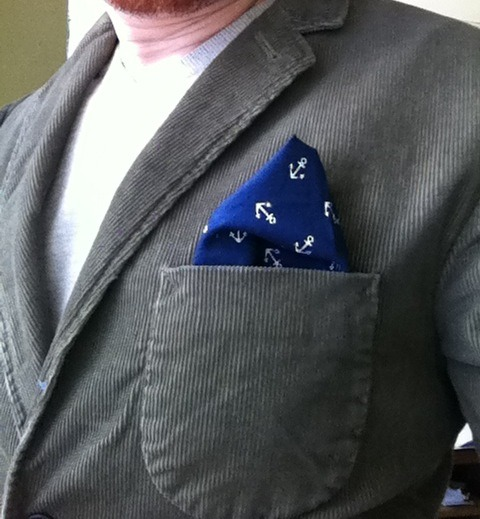 Hand-made pocket square made by EricTheRedd. #pocketsquare