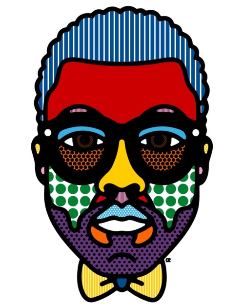 howtotalktogirlsatparties:  Kanye West by Craig Redman.