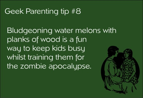 Good wholesome family fun - while learning about zombie killing!