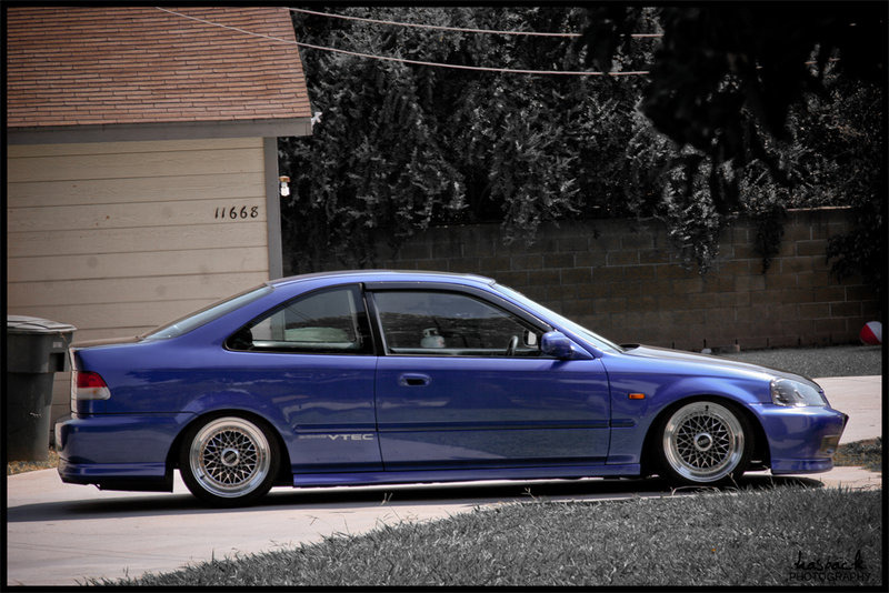hellyeahitsjay:  Super clean civic em1 si with bbs rims  Future Car!