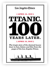 A new ebook collects a century of Los Angeles Times stories about the Titanic (heard through Nieman Lab).
