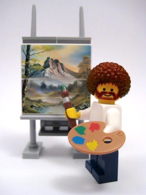 """We don't make mistakes here, just happy little accident"" ~ by Bob Ross"