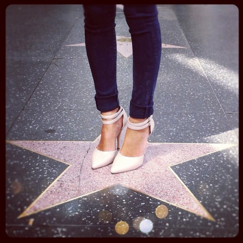 Can't believe it's my first time taking a photo on a #hollywood #star when I've lived in #LA my whole life! - songofstyle http://instagr.am/p/JS0wxenj7K/