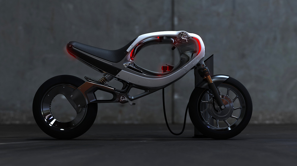 Frog's Ultra-Cool Vision For What Electric Motorcycles Can Be