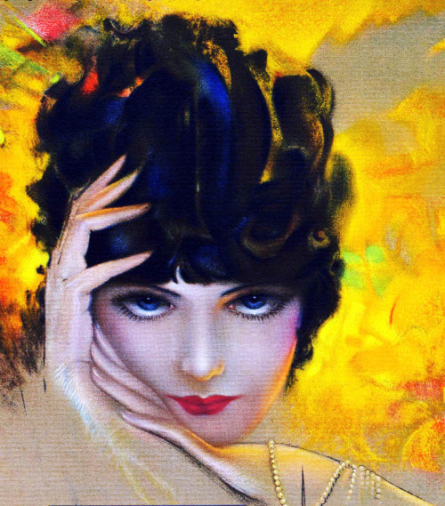 vintagegal:  Illustration by Rolf Armstrong c. 1930's