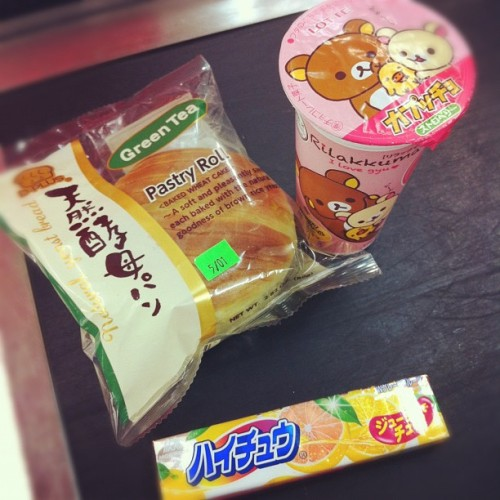 Katsu wasn't good today, grabbing some snacks to make up for it #japanese #foods  (Taken with Instagram at Mitsuwa)