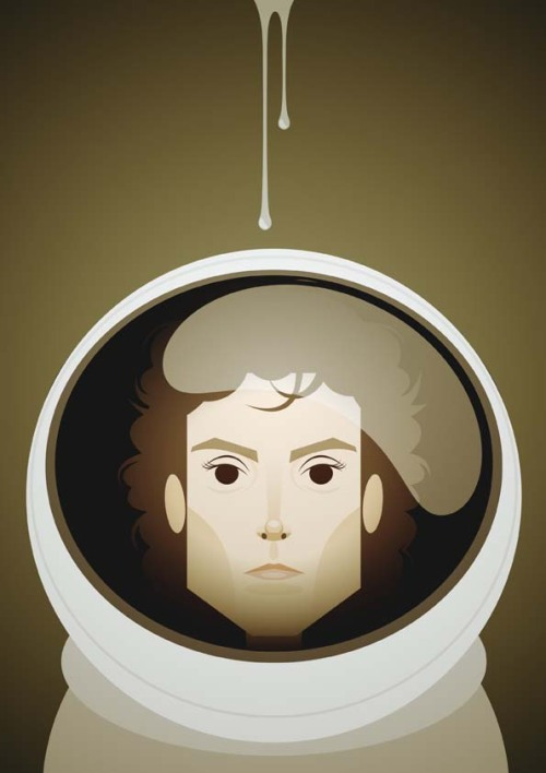 The original heroine. Ripley by @stan_chow stanleychowillustration:  Ellen Ripley
