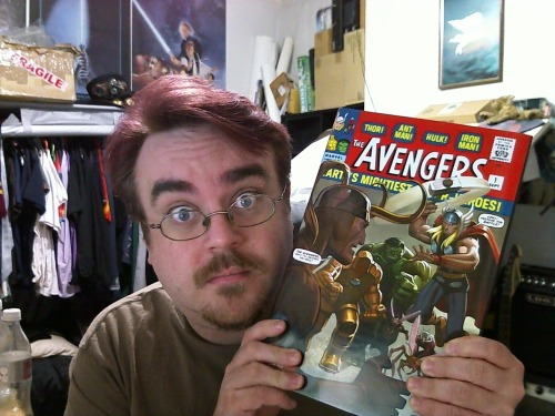 Oh mah gahd, you guise, I got this book off Amazon and it's FULL of Avengers spoilers! Apparently they form some kind of team or something, and it's all Loki's fault! Totally RUINED the movie for me! FFS! Sort yourself out, Marvel!