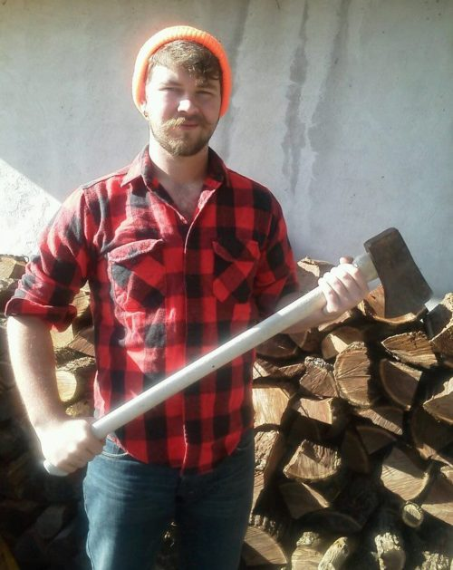 "beardsupply:  Submitted by theonlyc-mo! Thanks, and keep the flannel coming! ""This one was from a while back at the beginning of my Yeard Challenge. Lumberjackin' whatta ya thing Tumblr? Feel free to follow! Cheers! C-Mo!"""