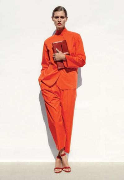 Malgosia Bela photographed by Zoe Ghertner in the Hermes Summer 2012 catalog