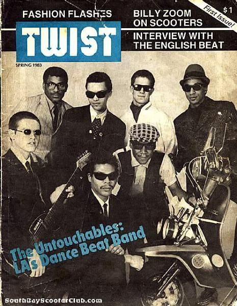 "The Untouchables on ""Twist"", Spring 1983"