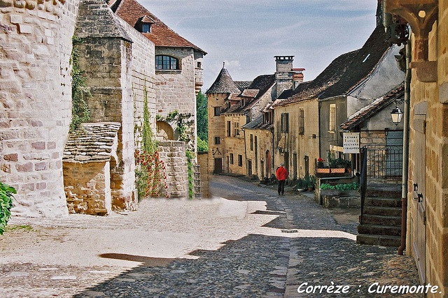 | ♕ |  Rue de Curemonte, Corrèze - Plus Beaux Villages  | by © PierreG_09