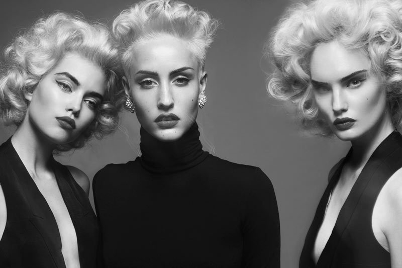 The Blondes - Henrietta Hellberg, Sara E & Elsa F by Fredrik Wannerstedt for Tush #27 (2012)