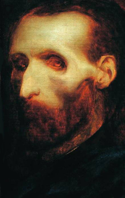 tamburina:  Theodore Gericault's Last Self Portrait as a Dying Man, 1824