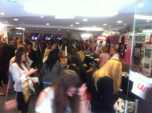 Sydney's One Direction store is still going gangbusters