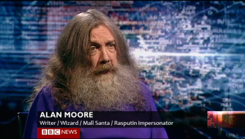 Alan Moore is everything I aspire to be.