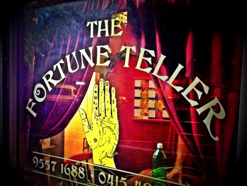 #38 on the bucket list: visit a psychic. Thank you, Paris Debono.