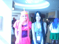 princess bubblegum and marceline lee cosplayer