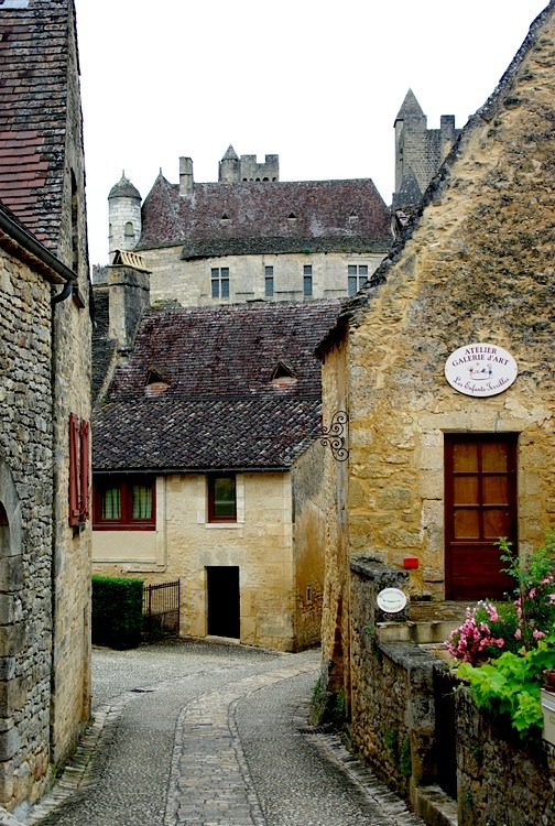 | ♕ |  Village road of Beynac-et-Cazenac - Plus Beaux Villages  | by © PierreG_09