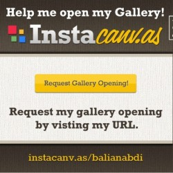 Hi, you like my pics? So go on the link instacanv.as/balianabdi to help me open my gallery there. Thanks. (Taken with instagram)