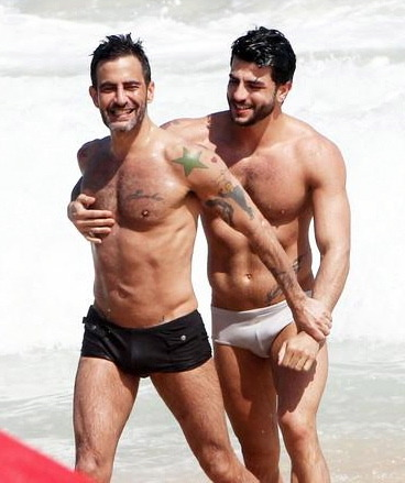 Marc Jacobs + porn star, boy toy harry louis vacation on Ipanema Beach…