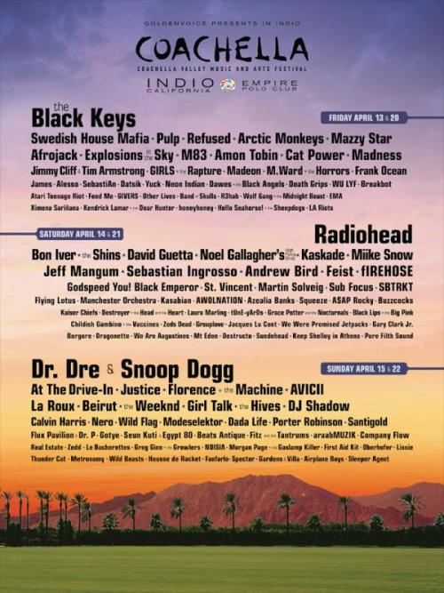 oddfuture:  This Friday, Frank IS Playing Coachella! Dont Forget!