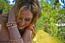 This Photo is from a photo shoot I did for my sister new jewelry company, check it out on Facebook  ( I used my Canon 7D and did some post work using CS5)