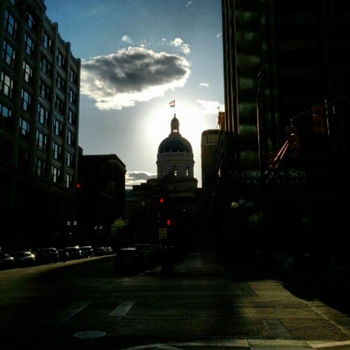 Statehouse, take 2 (Taken with Instagram at Indiana Statehouse)
