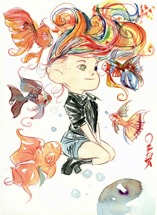 jesic:  Delirium, by Dustin Nguyen