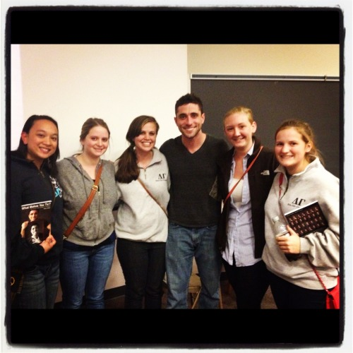 "Ara, Anne, me, Marc Elliot, Danielle, and my little after Marc's presentation called ""What Makes You Tic."" Honestly the best speaker I've ever listened to in all my CAP-going years. Live and let live; you only live once.  marcelliot.com for more info. Trust me. It's worth it."