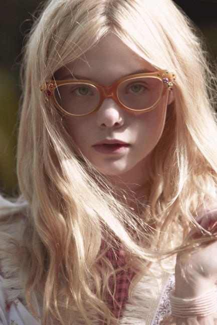 axials:  Elle Fanning by Todd Cole for Rodarte