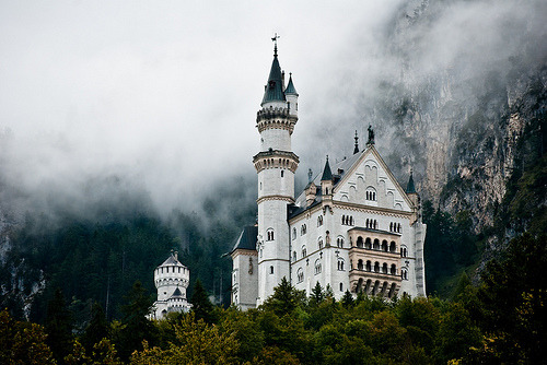 Neuschwanstein, Germany  I've been here.