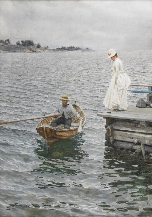 Sommarnöje by Anders Zorn