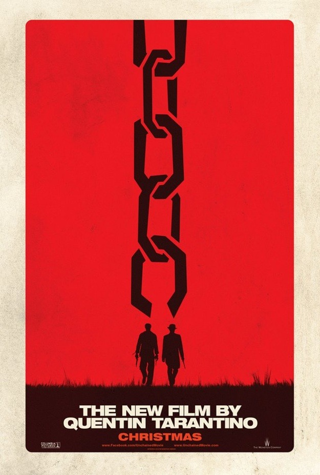 First teaser poster for Quentin Tarantino's DJANGO UNCHAINED is pretty fucking great.